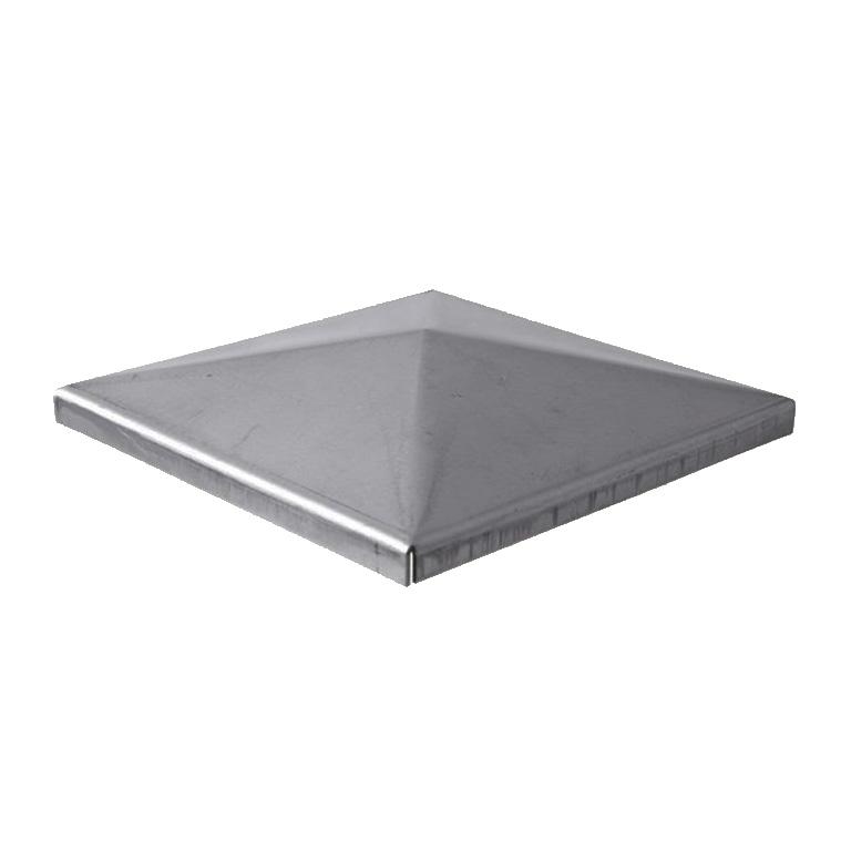 couvre pilastre acier 80x80mm fn3579 tube carr couvre pilas. Black Bedroom Furniture Sets. Home Design Ideas
