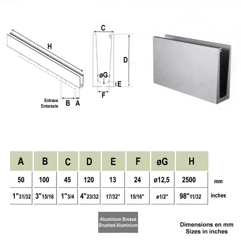 verre pr t poser verre feuillet joint poli pour garde corps profi. Black Bedroom Furniture Sets. Home Design Ideas