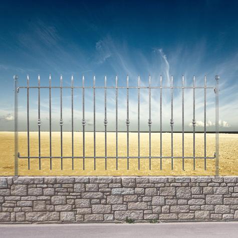 cl ture vienna grille hauteur 1m et 1 2m grille de cloture vienna 10 p. Black Bedroom Furniture Sets. Home Design Ideas