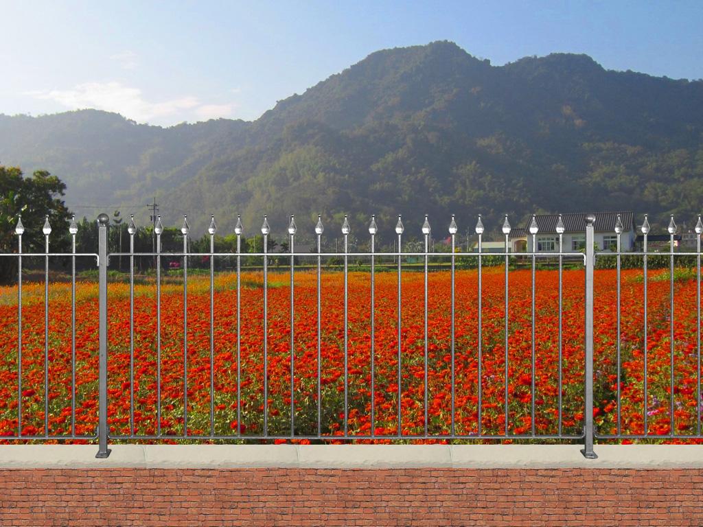 Cl ture firenze hauteur 1m 1 2m et1 5m grille de cloture firenze 10 p - Cloture de jardin facile a poser ...