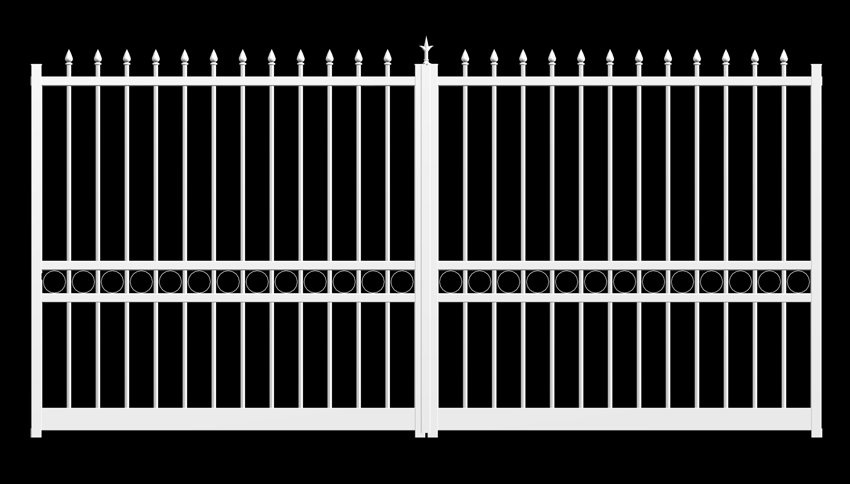 Portail sanary portail ouvrant portail alu 3 1m sanary battants for Portail aluminium ouvrant