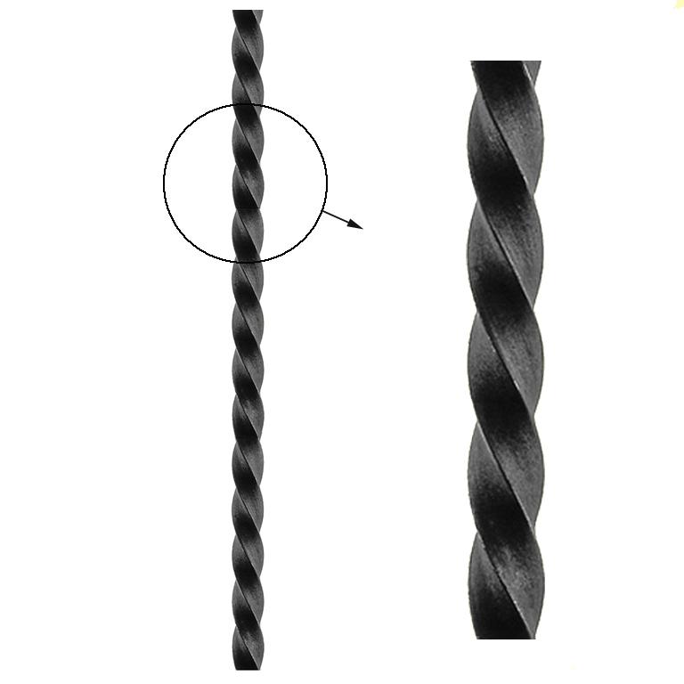 barre torsad e carr torsad barre carr torsad 25x25 3m. Black Bedroom Furniture Sets. Home Design Ideas